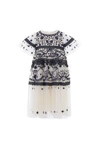Midsummer Lace Kids Dress - Black
