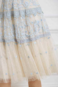 Midsummer Lace Dress - Blue