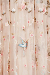 Regency Garden Ballerina Prom Dress - Beige