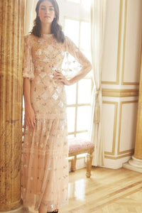 Rose Diamond Gown - Pink