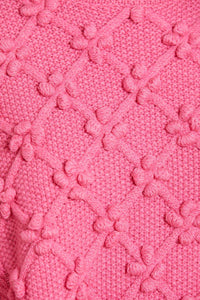 Rose Bobble Stitch Short Jumper