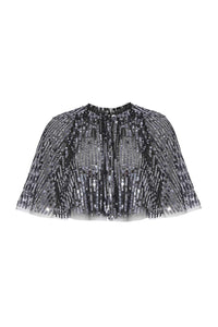 Scarlett Sequin Cape