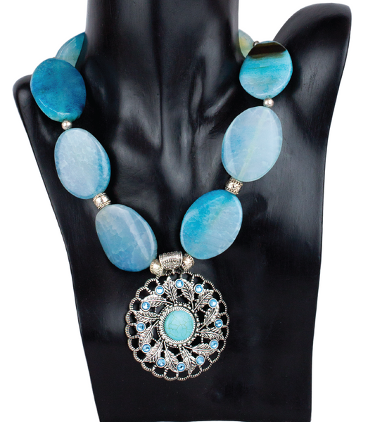 COLLAR BLUE LAGOON