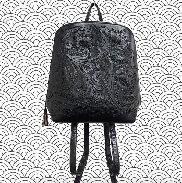 BACKPACK NEGRA KINA