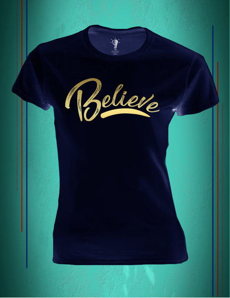 Playera Believe