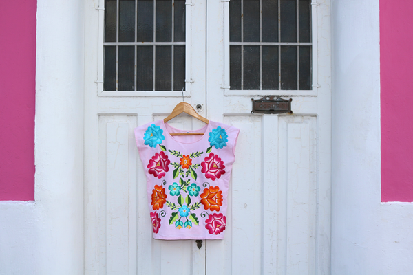 Blusa Frida Color Rosa