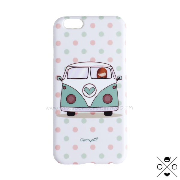 CASE COMBI RETRO LOVE