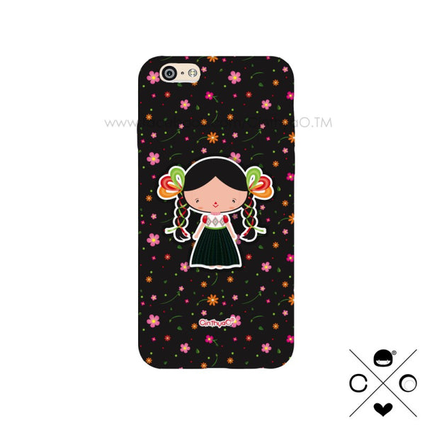 CASE MUÑECA MEXICANA BLACK