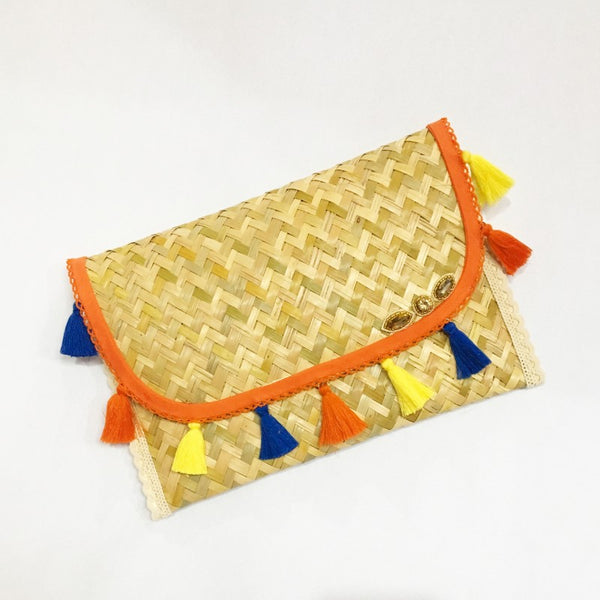 CLUTCH NARANJA DE MAR