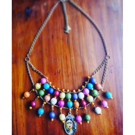COLLAR FRIDA COLORES