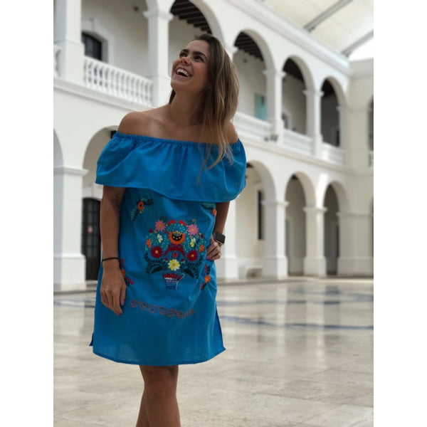 VESTIDO OFF THE SHOULDER