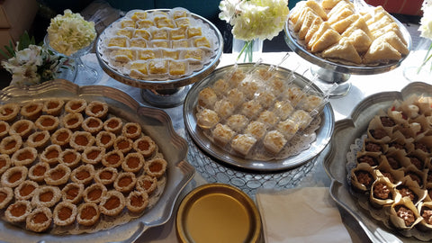 The Sweetest Things Dessert Table for weddings, party, corporate