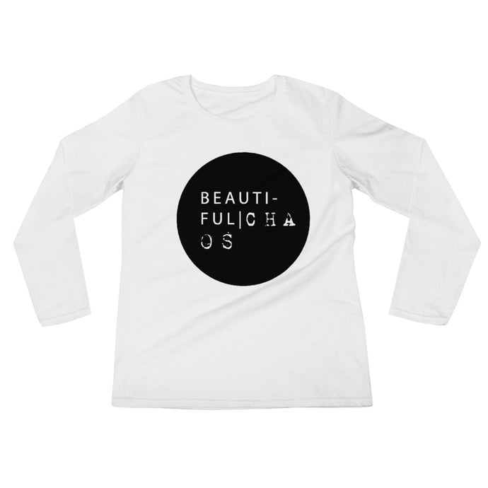 Beautiful Chaos OG Ladies' Long Sleeve T-Shirt - Beautiful Chaos™
