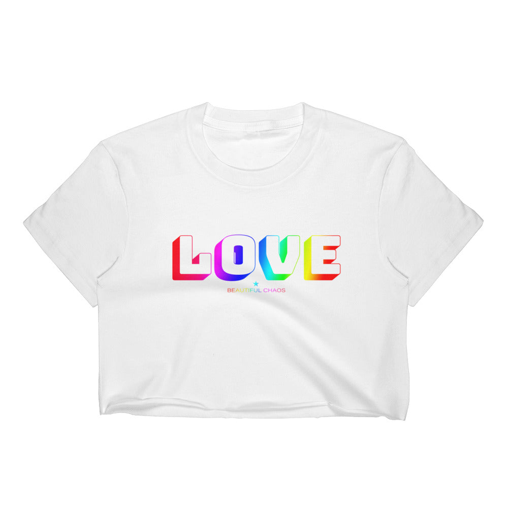 Love In All Colours Women's Crop Top - Beautiful Chaos™