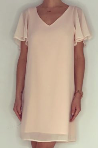 Just Paul  Pale Pink Papillon Dress