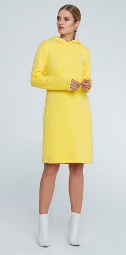 Maare Lisa Yellow Dress