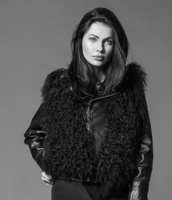Porte Prive Leather Fur Jacket