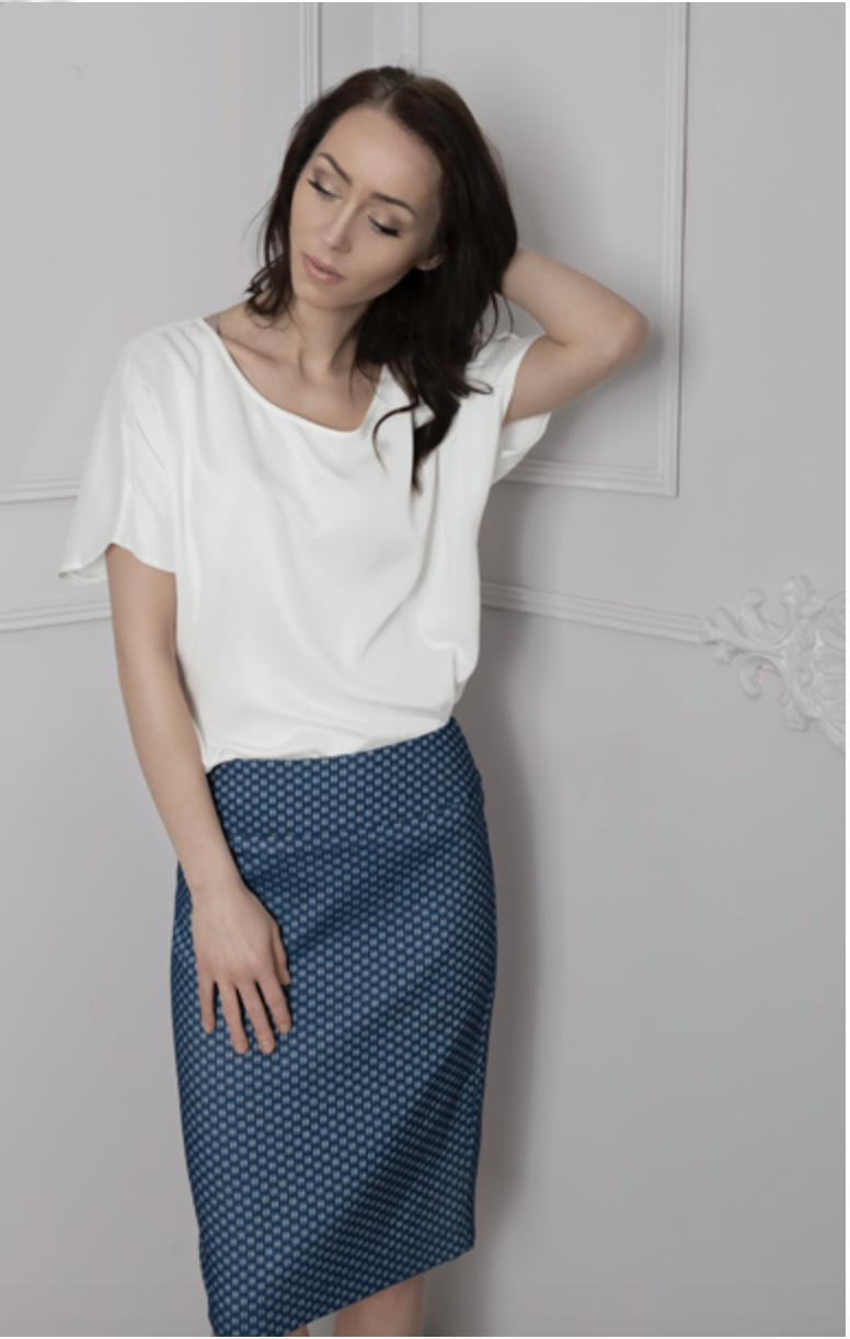 BUBALA Pencil Skirt