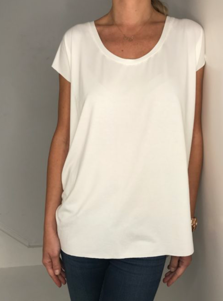 Just Paul Oversize T-shirt White