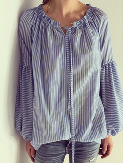 Just Paul Marine Stripes Blouse