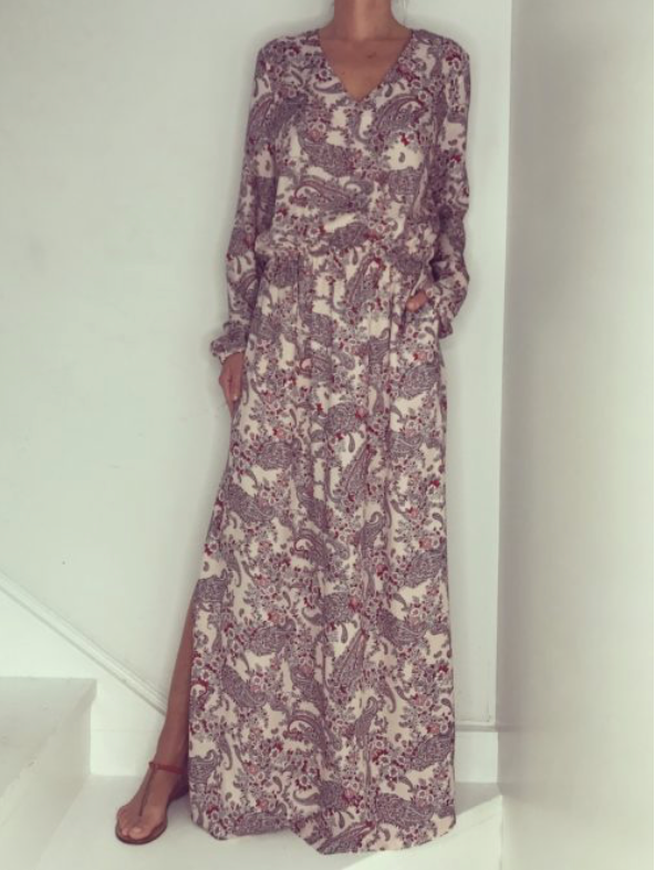 Just Paul Lemonade Mist Maxi Miami Dress