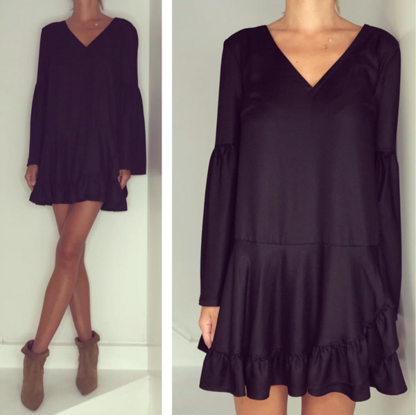 Just Paul Black Lola Dress
