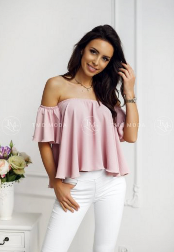 Spanish Ladies Blouse Pink Outlet
