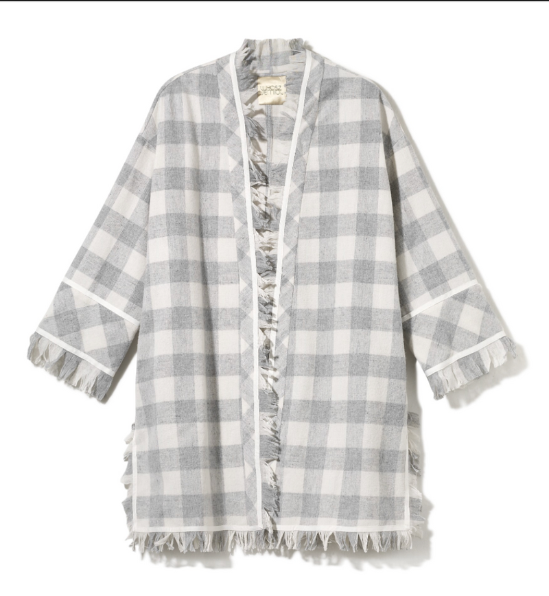 Lukasz Jemiol PLAID OVERCOAT