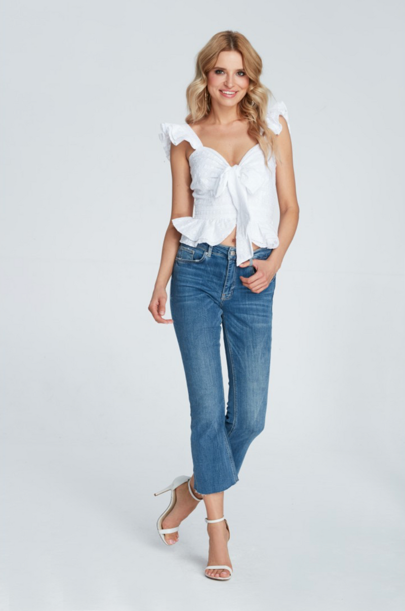 Daisy White Top Maare
