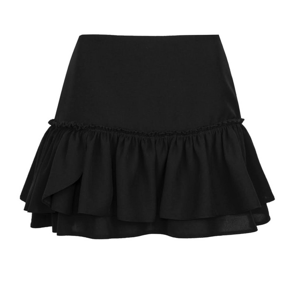 Porte Prive Ruffle Skirt