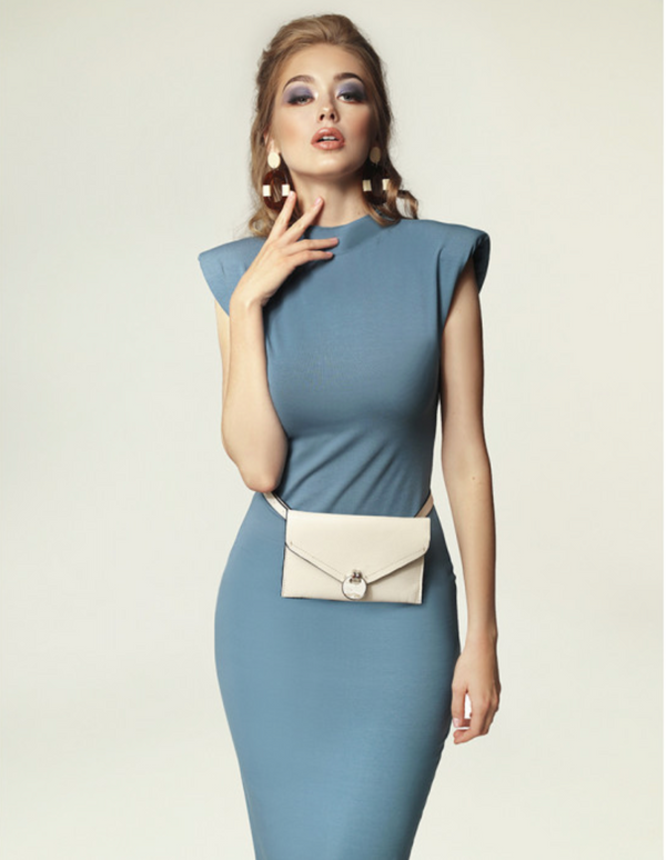 MADNEZZ JAGG Blue Dress