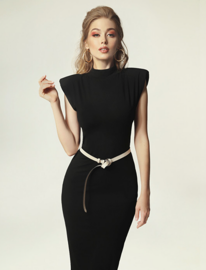 Madnezz Jagg Black Dress