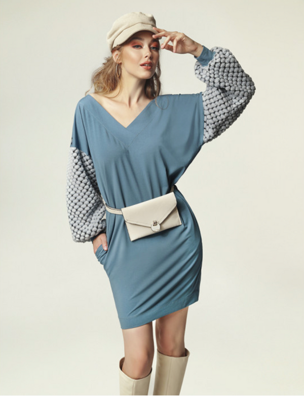 Madnezz Grace Blue Dress