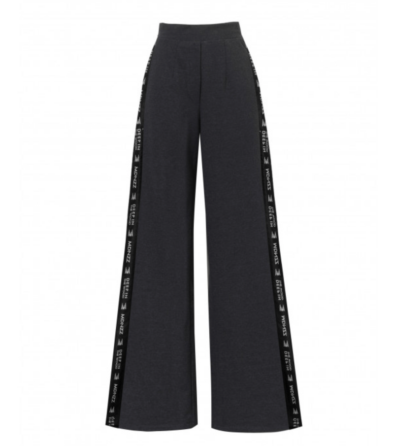 Madnezz Strip that down Dark Gray Pants