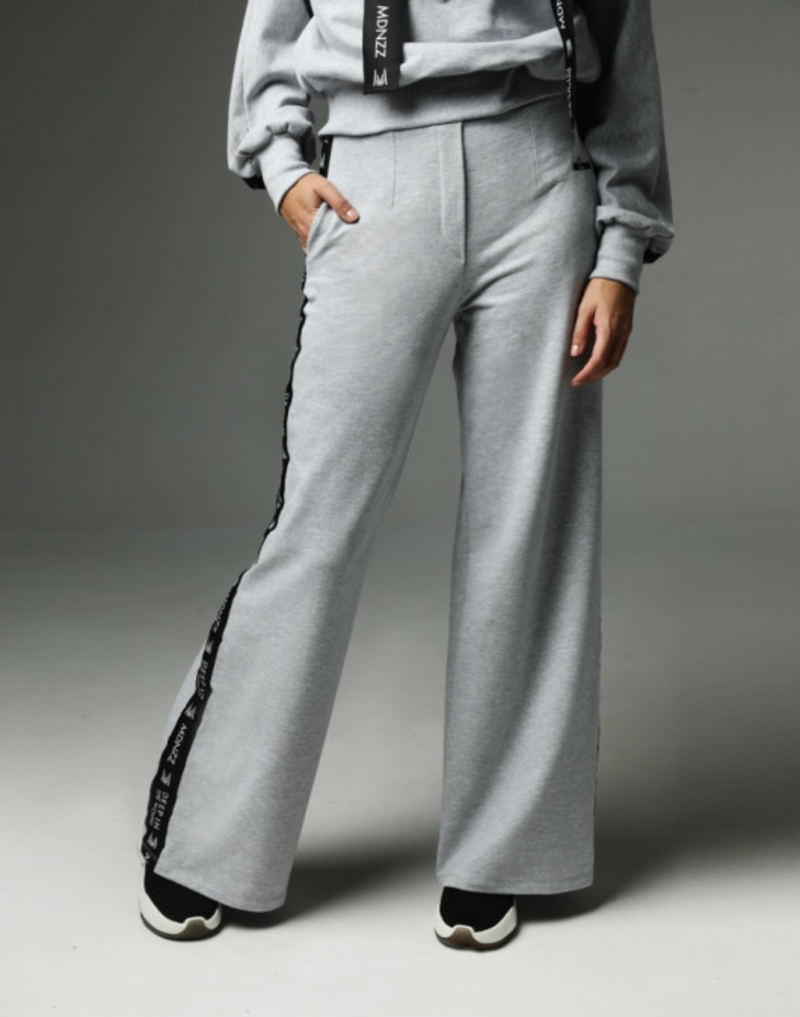 Madnezz Strip That Down Gray Sweatpants