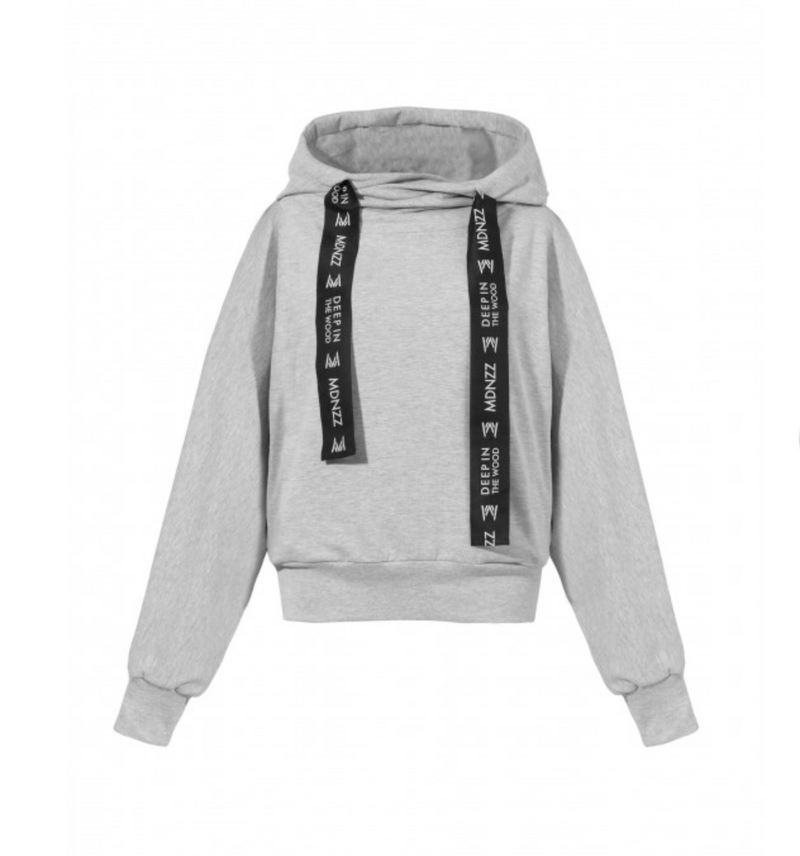 Madnezz Go Sky High Gray Sweatshirt