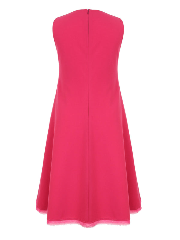 Sylwia Majdan Sleeveless Fuchsia Dress