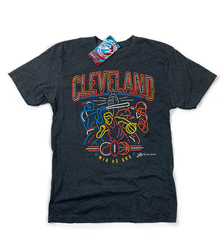 Neon Cleveland Sports Edition T shirt