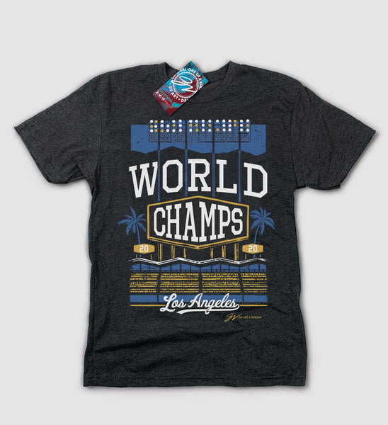Los Angeles World Champs 2020 T shirt