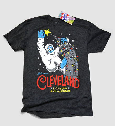 Cleveland Making Your Holidays Bright T shirt