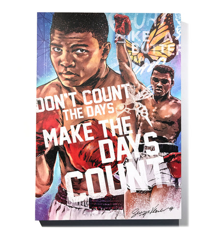 "Limited Edition ""Make the Days Count"" Canvas Print"