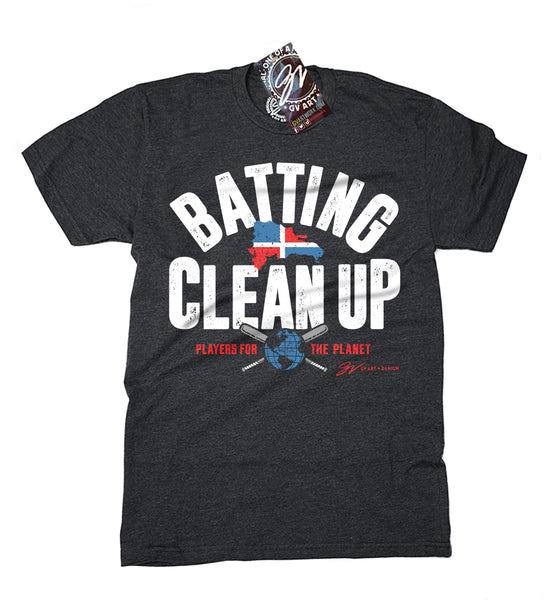 Batting Cleanup - Players For The Planet T shirt