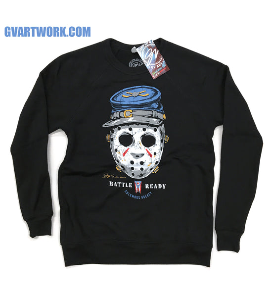 Columbus Hockey - Battle Ready Crew Sweatshirt