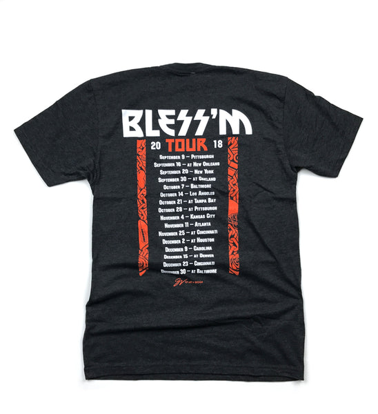 Bless'm Tour Hooded Sweatshirt