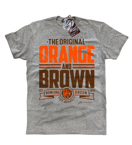 Bowling Green The Original Orange and Brown T shirt