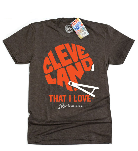 University Hospitals Special Edition Cleveland That I Love Football Shirt