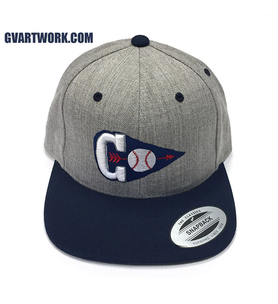 Cleveland Baseball C Arrowhead Snap Back Hat