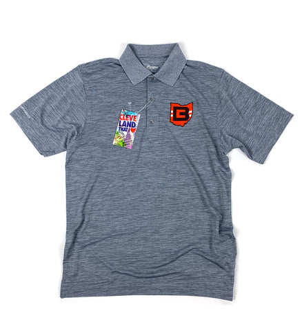 Cleveland Football CB Ohio Grey Polo