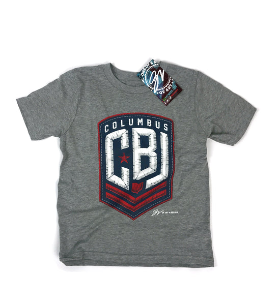 Kids CBJ Hockey T shirt