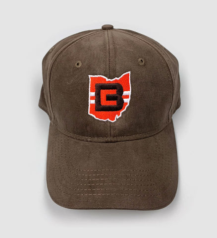 Cleveland CB Ohio Brown Dad Hat